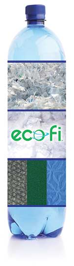 EcoFi Bottle recycled trade show materials