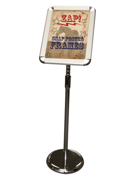 zap snap poster stand